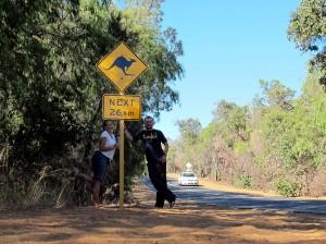 Weltreise Blog aus Australien Känguru 2011