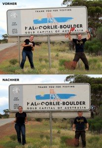 Weltreise Blog aus Australien Kalgoorlie Gold suchen 2011