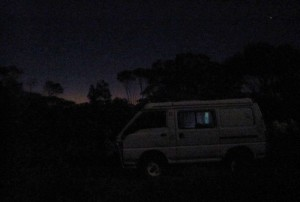 Rundreise durch West Australien 2011 free Camping near Esperance