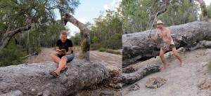 Jeder Mensch braucht ein Hobbie auch im australischen Outback
