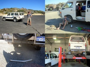 Mitsubishi Express 4x4 Backpacker Van in Perth Australien kaufen