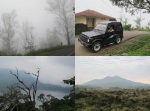 Vulkanbesteigung oder so auf Weltreisen