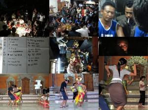 Bali traditionelle Tauf-Zeremonie Weltreise 2011