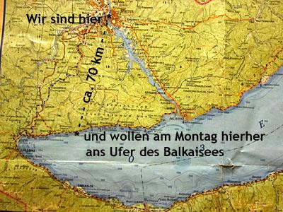 Weltreise Ziel Irkutsk und der Balkai See