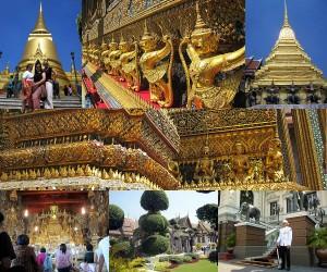 Weltreise Blog Bangkok Großer Palast
