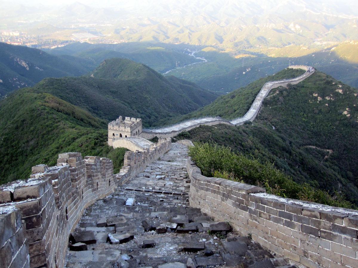 Chinesische Mauer Wallpaper Heute Ist Die Mauer Ein