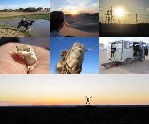 Weltreise Blog Wüste Gobi Trip