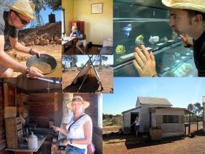 Goldschürfen und Gold suchen in Kalgoorlie Australien
