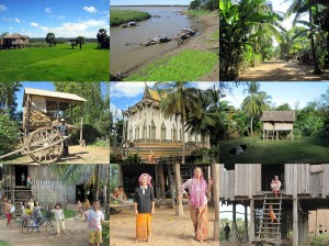 Kambodscha offroad erleben mit dem Tuk-Tuk durch die Dörfer