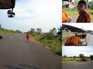 Weltreise Blog: Mit einem Mönch im Tuk-Tuk unterwegs