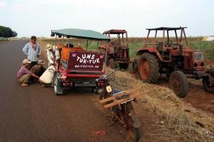Mit dem Tuk-Tuk unterwegs in Kambodscha - Weltreise Blog