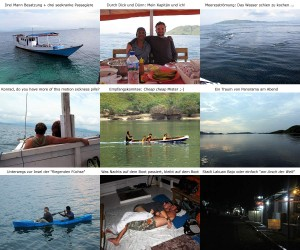 Mit dem Boot aus Labuan Bajo nach Komodo