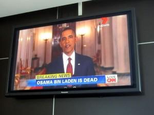 Osama Bin Laden ist tot, erschossen am 02.05.2011 in Pakistan