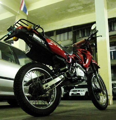 Platinum PX-125 175 Motorrad Thailand motorbike