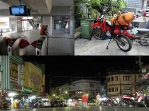 Mit dem Motorrad von Bangkok nach Chathaburi 2011 Thailand