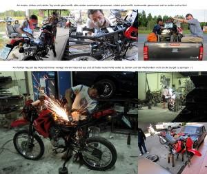 Ein Motorrad in Thailand kaufen