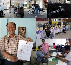 Als Tourist ein Motorrad in Thailand kaufen