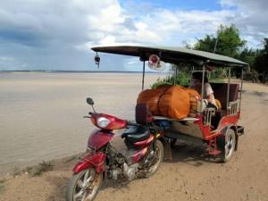 Weltreise mit dem Tuk-Tuk in Kambodscha