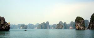 Weltreise Blog diesmal aus der Halong Bucht