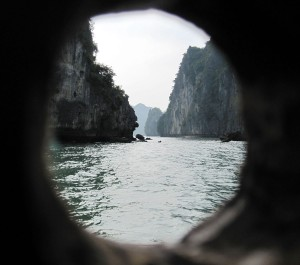 Halong Bay in Vietnam, Cat Ba island