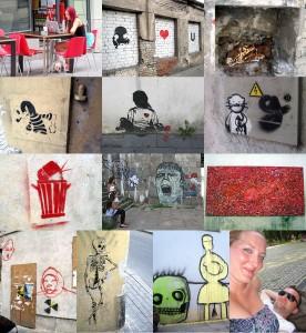Streetart in der Altstadt Vilinus