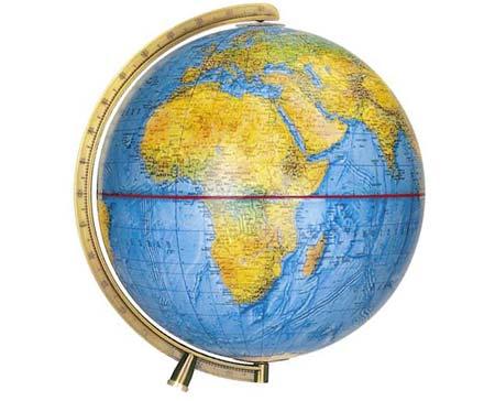 Es gibt gar keine echte Äquatorlinie auf der Welt!