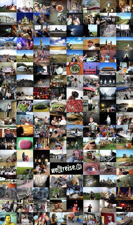 Ein halbes Jahr Weltreise in Bildern